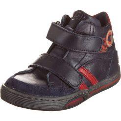 """Buciki niemowlęce chłopięce: Skórzane buty """"Alfredo"""" w kolorze granatowym do nauki chodzenia"""
