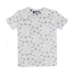 T-shirty chłopięce: Koszulka w kolorze biało-szarym