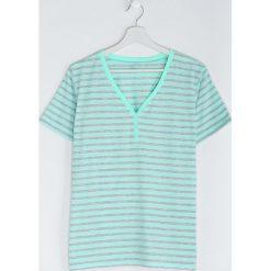 T-shirty damskie: Jasnozielony T-shirt Last But One