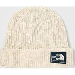 The North Face - Czapka. Szare czapki zimowe męskie marki The North Face, z bawełny. W wyprzedaży za 99,90 zł.