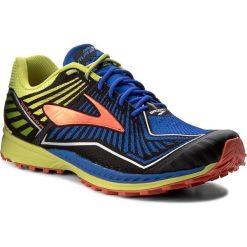 Buty BROOKS - Mazama 110235 1D 455 Electric Brooks Blue/Lime Punch/Cherry Tomato. Niebieskie buty do biegania męskie Brooks, z materiału. W wyprzedaży za 379,00 zł.