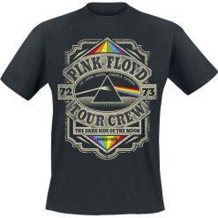 Pink Floyd Dark Side Of The Moon Tour Crew T-Shirt czarny. Czarne t-shirty męskie marki Pink Floyd, s. Za 74,90 zł.