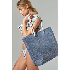 Duża torba na plażę - Granatowy. Niebieskie torby plażowe marki Reserved, duże. Za 49,99 zł.