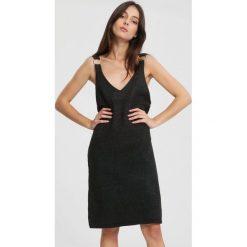 Czarna Sukienka Going Crazy. Czarne sukienki dzianinowe marki other, m. Za 59,99 zł.