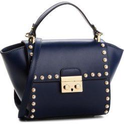 Torebka CREOLE - K10510 Granat. Niebieskie torebki klasyczne damskie Creole, ze skóry. W wyprzedaży za 219,00 zł.