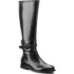 Oficerki GINO ROSSI - Roma DKG186-F43-3V00-9900-F 99. Czarne buty zimowe damskie marki Superfit, z gore-texu, przed kolano, na wysokim obcasie. W wyprzedaży za 399,00 zł.