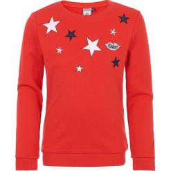 Bluza w kolorze czerwonym. Czerwone bluzy dziewczęce marki Retour Denim de Luxe, z aplikacjami. W wyprzedaży za 105,95 zł.