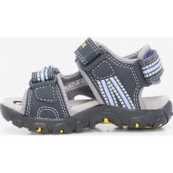 Geox - Sandały dziecięce. Szare sandały chłopięce marki Geox, z materiału. W wyprzedaży za 229,90 zł.