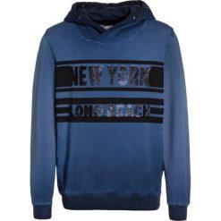 Blue Effect WENDEPAILETTE Bluza z kapturem marine. Niebieskie bluzy dziewczęce rozpinane Blue Effect, z bawełny, z kapturem. W wyprzedaży za 135,85 zł.