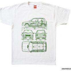 Koszulka FIAT UNO tshirt. Szare t-shirty męskie marki S.Oliver, l, z bawełny, z włoskim kołnierzykiem, z długim rękawem. Za 77,00 zł.