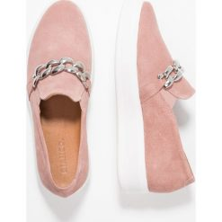 Creepersy damskie: Bianco LOAFER Półbuty wsuwane light pink