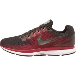 Buty do biegania damskie: Nike Performance W AIR ZOOM PEGASUS 34 GEM Obuwie do biegania treningowe shadow brown/mtlc pewter/rush maroon