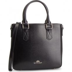 Torebka WITTCHEN - 87-4E-428-1 Czarny. Czarne torebki klasyczne damskie Wittchen, ze skóry. W wyprzedaży za 449,00 zł.