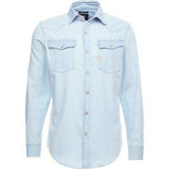 GStar 3301 SHIRT L/S Koszula light trell denim. Niebieskie koszule męskie na spinki G-Star, l, z bawełny. Za 369,00 zł.