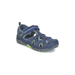 Sandały Dziecko  Merrell  HYDRO HIKER SANDAL. Niebieskie sandały chłopięce Merrell. Za 191,20 zł.