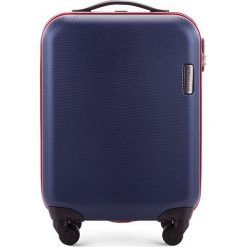 Walizka kabinowa 56-3-610-90. Niebieskie walizki marki Wittchen, z gumy, małe. Za 219,00 zł.