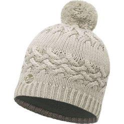 Czapki męskie: Buff Czapka Knitted & Polar Savva Cream 50x25cm biała (BH111005.006.10.00)