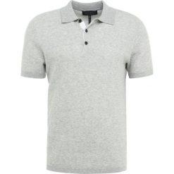 Rag & bone TRIPP  Koszulka polo light grey. Szare koszulki polo rag & bone, m, z bawełny. W wyprzedaży za 644,25 zł.