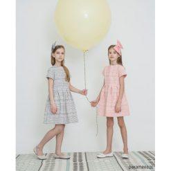 Sukienki dziewczęce z falbanami: Sukienka z zakładkami