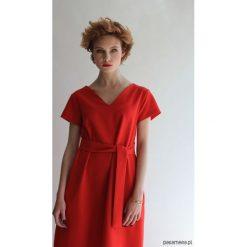 Sukienki balowe: Sukienka SIMPLICITY RED SHORT TRUE COLOR BY ANN