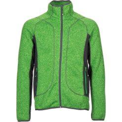 """Bluzy męskie: Bluza polarowa """"Stue"""" w kolorze zielonym"""