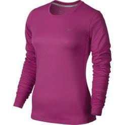 Koszulka do biegania damska NIKE MILER LONGSLEEVE / 686904-617 - NIKE MILER LONGSLEEVE. Czerwone bluzki damskie Nike, z długim rękawem. Za 79,00 zł.