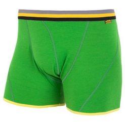 Sensor Bokserki Merino Wool Active M Safari L. Zielone bokserki męskie marki Sensor, z materiału. Za 115,00 zł.