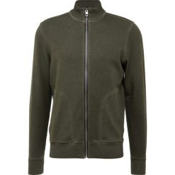 BOSS CASUAL ZASTER Bluza rozpinana dark green. Zielone bluzy męskie rozpinane marki BOSS Casual, m, z bawełny. Za 629,00 zł.