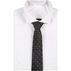 Krawaty męskie: Emporio Armani LINEARE TIE Krawat grey