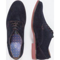 Buty wizytowe męskie: Burton Menswear London MALONE Eleganckie buty navy