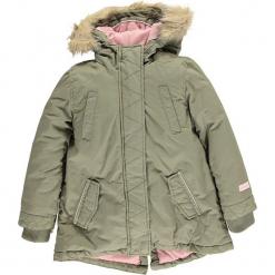 Kurtka zimowa w kolorze khaki. Brązowe kurtki dziewczęce zimowe marki Reserved, l, z kapturem. W wyprzedaży za 245,95 zł.