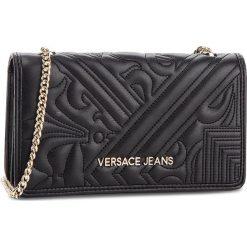 Torebka VERSACE JEANS - E3VSBPZ3 70792 899. Czarne torebki klasyczne damskie Versace Jeans, z jeansu. Za 369,00 zł.