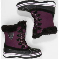 Kastinger SNOWWALK PRO UKUT Śniegowce eggplant/black. Fioletowe buty zimowe damskie marki Kastinger, z materiału. W wyprzedaży za 224,25 zł.