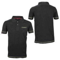 Koszulki polo: REUSCH Koszulka męska Polo Men czarna r. S (31102)