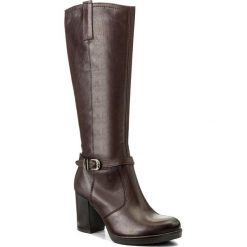 Kozaki LASOCKI - 7471-10 Brązowy. Brązowe buty zimowe damskie Lasocki, ze skóry. Za 349,99 zł.
