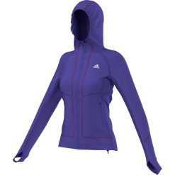 Bluzy damskie: Adidas Bluza damska Terrex Swift Pordoi Hooded Fleece fioletowa r. 34 (S09546)