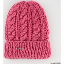 Czapki zimowe damskie: Czapka na drutach