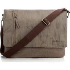 TORBA MĘSKA HAROLD`S NA RAMIĘ. Brązowe torby na ramię męskie marki Kazar, ze skóry, przez ramię, małe. Za 129,00 zł.