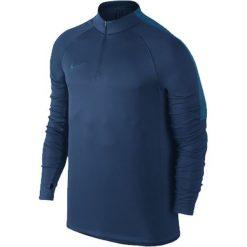 Nike Koszulka męska Squad granatowa r. M (807063 430). Niebieskie t-shirty męskie Nike, m, do piłki nożnej. Za 159,45 zł.
