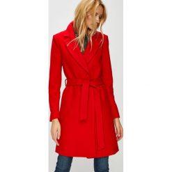 Only - Płaszcz. Czerwone płaszcze damskie ONLY, l, z materiału, klasyczne. Za 339,90 zł.