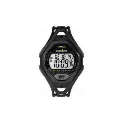 Pulsometr zegarek sportowy Timex Ironman Sleek. Czarne, cyfrowe zegarki męskie Timex, sztuczne. Za 249,00 zł.
