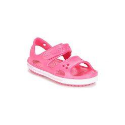 Sandały Dziecko  Crocs  CROCBAND II SANDAL PS. Czerwone sandały dziewczęce marki Crocs. Za 103,20 zł.