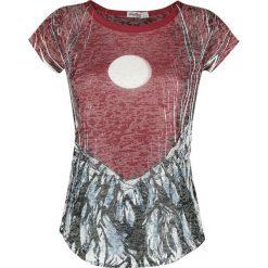 Innocent Red Moon T Koszulka damska wielokolorowy. Niebieskie bluzki damskie marki Innocent, xl, w ażurowe wzory, z materiału, z dekoltem na plecach. Za 54,90 zł.