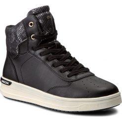 Sneakersy GEOX - J Aveup G. C J741ZC 0BCAR C9999 D Black. Czarne buty sportowe chłopięce Geox, z materiału. W wyprzedaży za 189,00 zł.