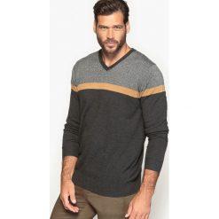 Kardigany męskie: Sweter z dekoltem w serek