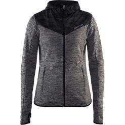 Bluzy damskie: Craft Bluza damska z kapturem Breakaway Jersey Jacket szaro-czarna r. S (1905497-975999)