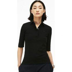 Lacoste SLIM FIT PF7844 Koszulka polo noir. Czarne bluzki damskie Lacoste, z bawełny. Za 419,00 zł.