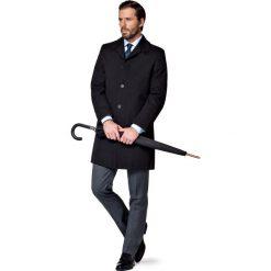 Płaszcz Nicholas Czarny. Czarne płaszcze na zamek męskie marki LANCERTO, na jesień, m, z bawełny, casualowe. W wyprzedaży za 199,90 zł.