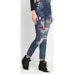 Niebieskie Jeansy Garden. Niebieskie ogrodniczki jeansowe damskie Born2be. Za 99,99 zł.