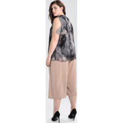 Bluzki asymetryczne: City Chic MARBLE PRINT Bluzka marble